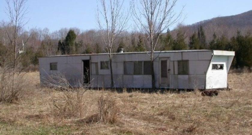 Abandoned Mobile Home Daniel Friedman Dirt Pad