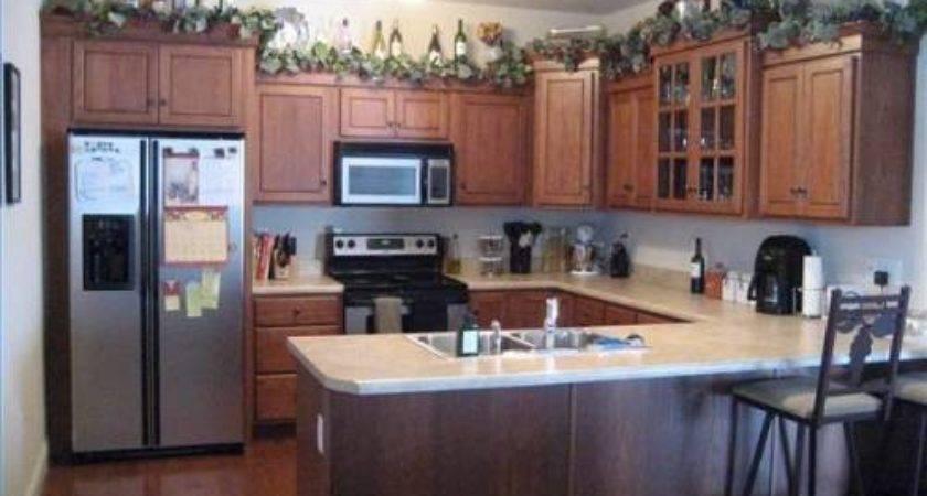 Above Cupboard Decoration Ideas Home Design Decor
