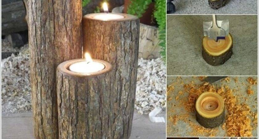 Absolutely Wonderful Tree Stump Landscaping Decor Ideas