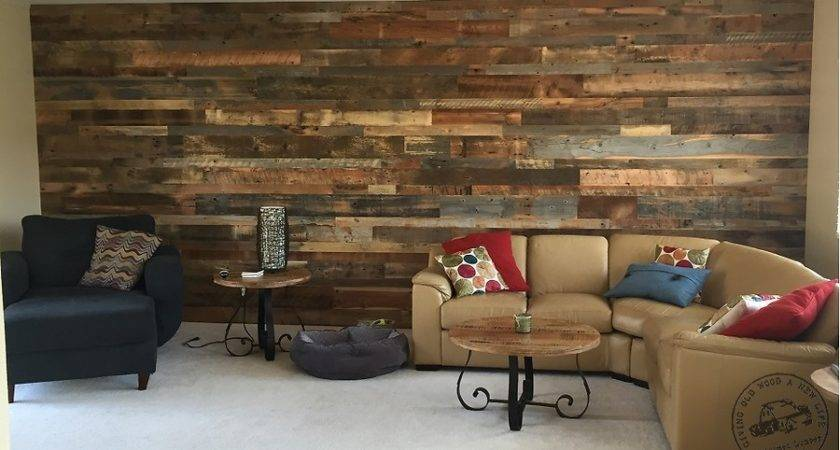 Accent Wall Paneling Idaho Barn Wood Blend Reclaimed
