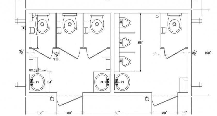 Ada Bathroom Simple Sink Toilet
