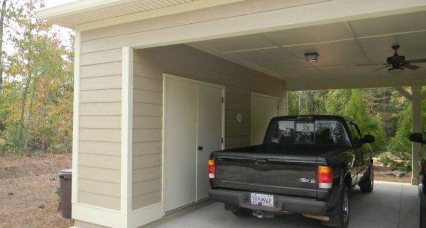 Add Carport Existing House Attached Plans
