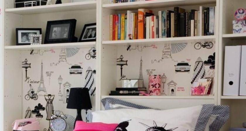 Add Clever Storage Transform Teenage Girl Bedroom