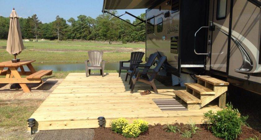 Add Deck Summer Home Lovely Outdoor Space