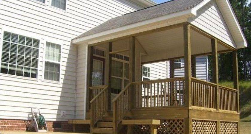 Add Gable Roof Front Porch Ehow