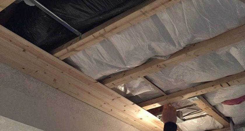Add Shiplap Ceiling