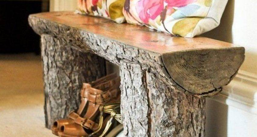 Add Warmth Your Home These Rustic Log Decor Ideas