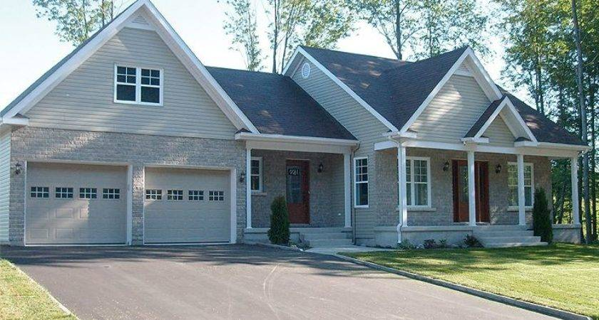 Adding Attached Garage Ranch Style House Home