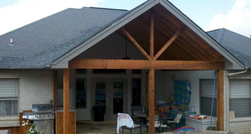 Adding Back Porch House