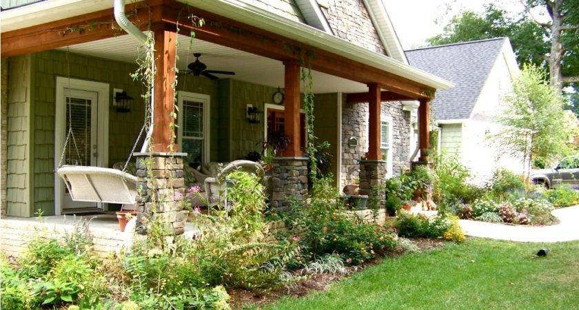 Adding Back Porch Ranch Style Home