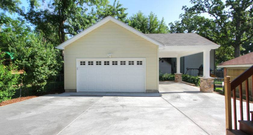Adding Carport Garage Contemporary