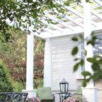 Adding Character Front Porch Pergola French Country Cottage