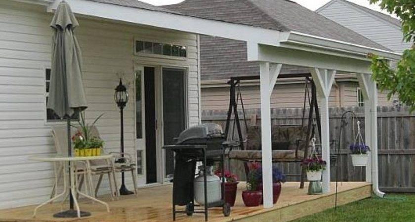 Adding Front Porch Raised Ranch