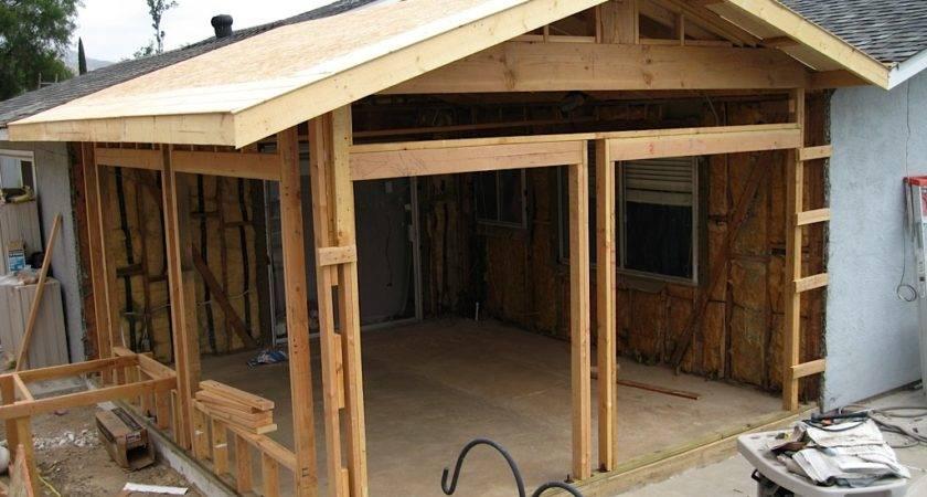 Adding Patio House Porch Ranch Style