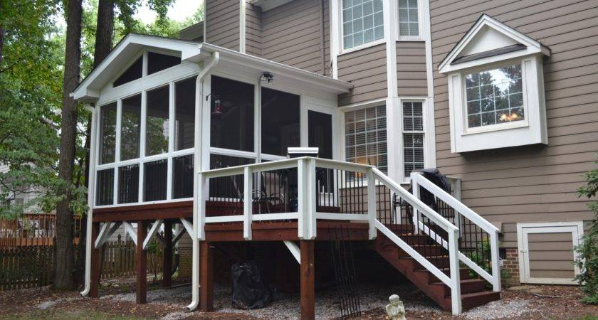 Adding Small Screened Porch