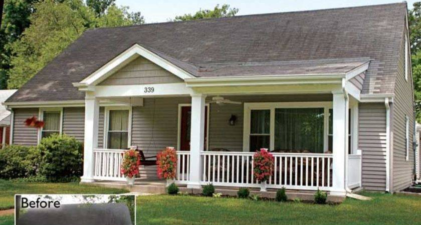 Addition Front Porch Home Remodelers Louis