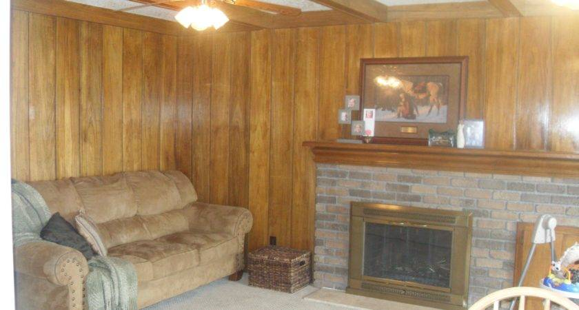 Admirable Room Brown Wall Painted Wood