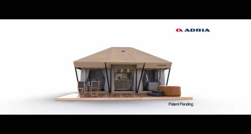 Adria Home Mobile Tents Youtube