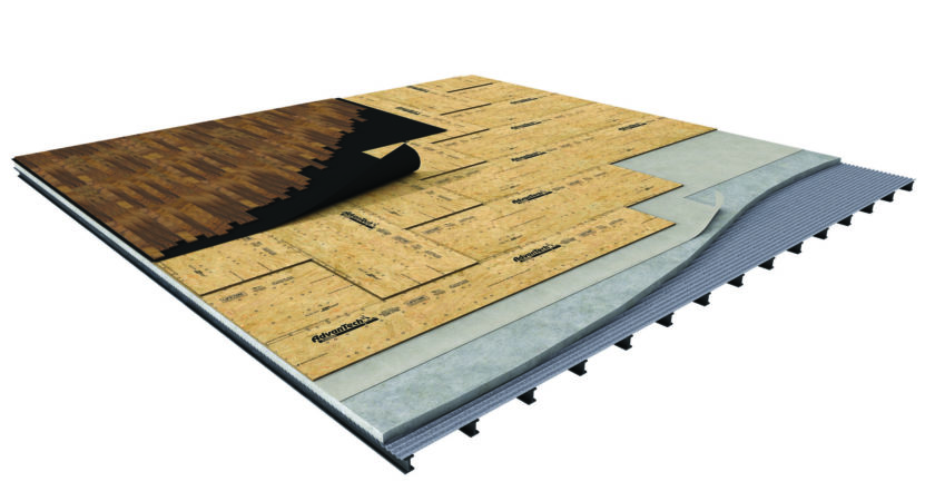 Advantech Panels Ideal Two Layer Floating Subfloor