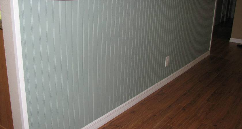 After Beadboard Installation Interior Painting