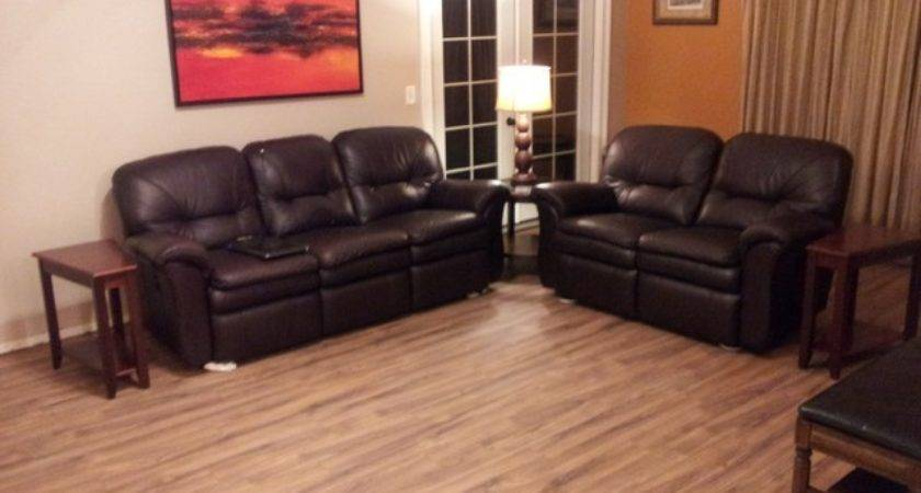 After Laminate Flooring Living Room
