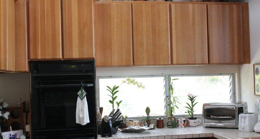 After Refinishing Solid Oak Kitchen Cabinet Yelp