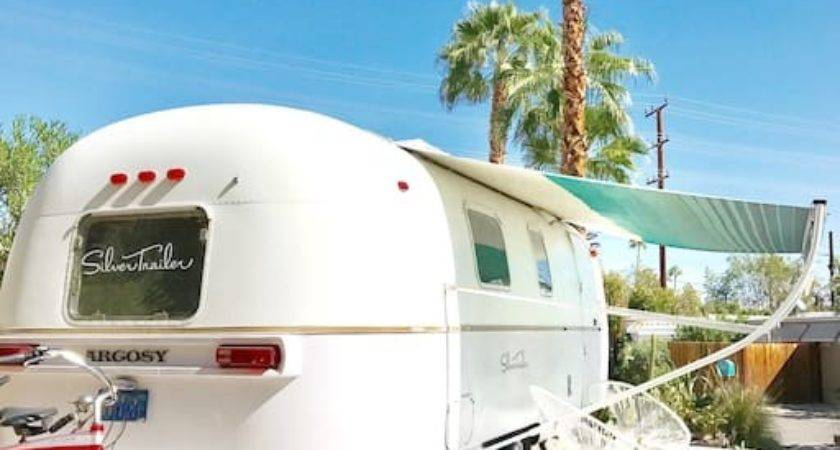 Airstream Argosy Acacia Caravan Palm Springs