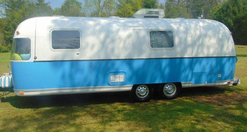 Airstream Argosy Camper Travel Trailer Vintage