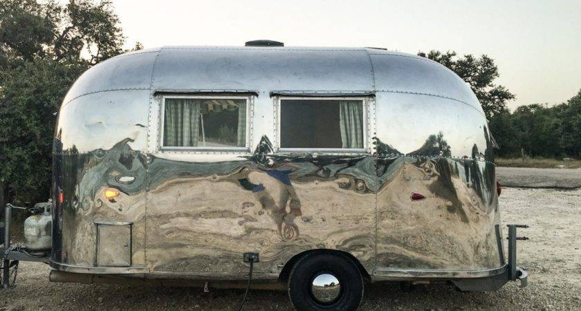 Airstream Bambi Texas