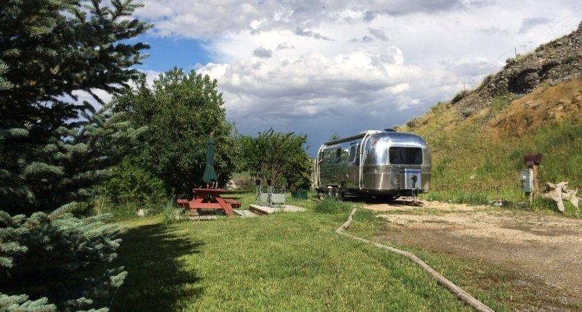 Airstream Camping Cody Wyoming