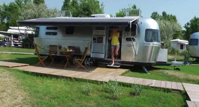 Airstream Camping Venedig Casavio Youtube