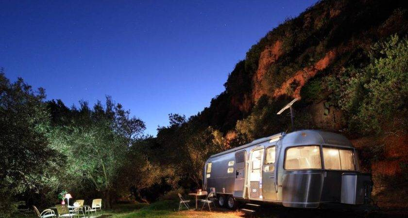 Airstream Glamping Andalucia Campers Rvs Rent