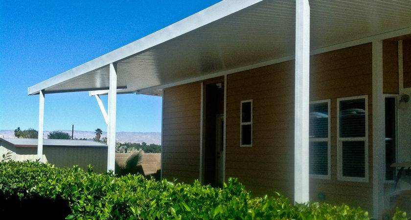 Aladdin Patios Mobile Home Awnings