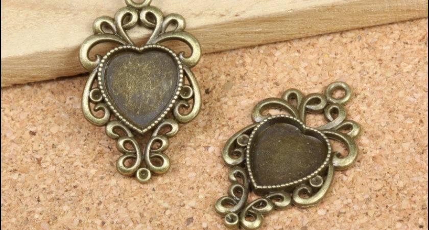 Aliexpress Buy Wholesale Pcs Vintage Charms Heart