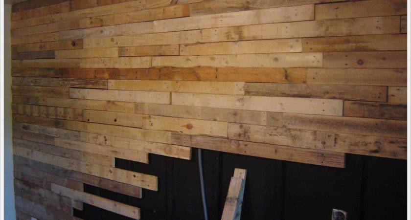 Alisation Mur Planches Palettes Wall Made