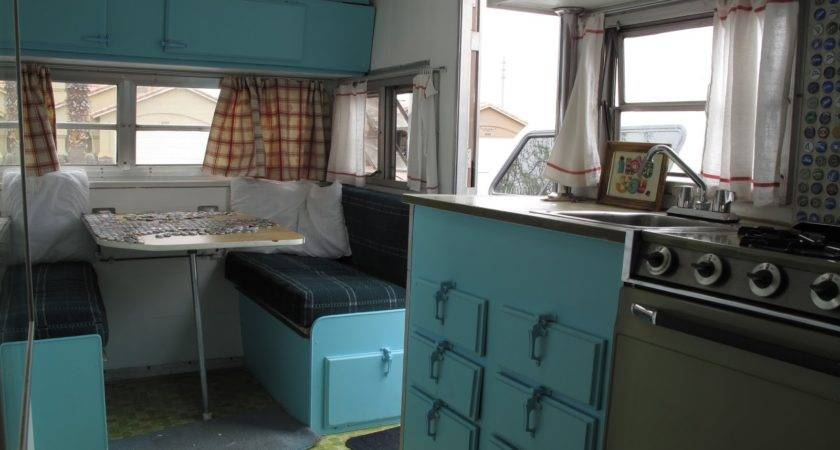 All Vintage Travel Trailer Makeover