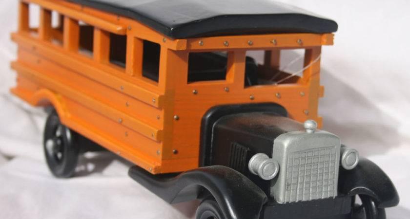 All Wood School Bus Replica Ebay