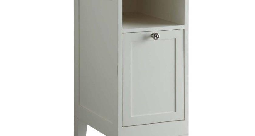 Allen Roth Bathroom Storage Cabinet Excellent Brown