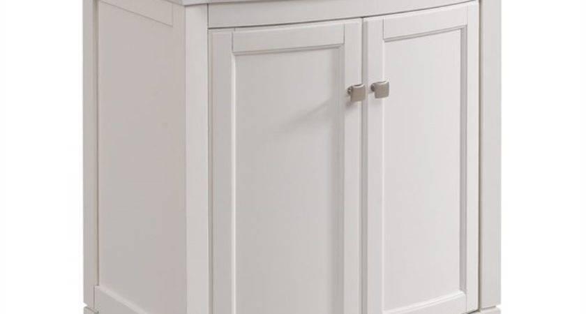 Allen Roth White Undermount Single Sink