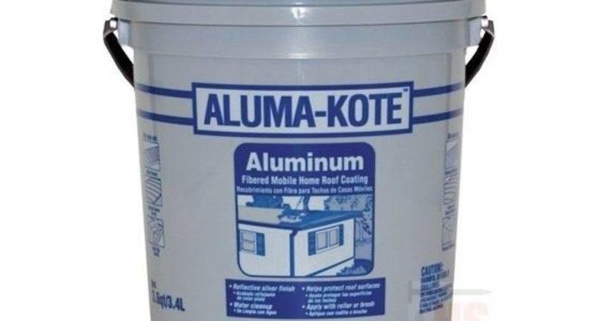 Aluma Kote Aluminum Mobile Home Roof Coating Fibe