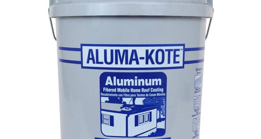 Aluma Kote Mobile Home Roof Coating Gallon