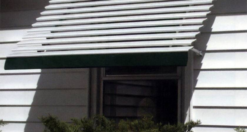 Aluma Vue Open Panel Aluminum Window Awnings