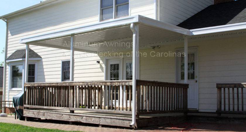 Aluminum Awnings Residential Deck Covers