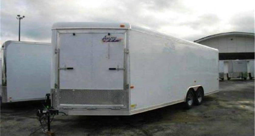 Aluminum Enclosed Car Snowmobile Trailer Advantage