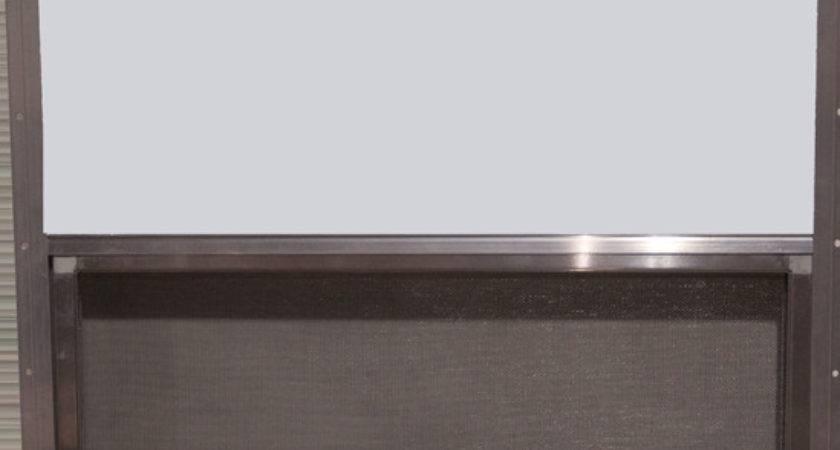 Aluminum Frame Window Single Pane Slider