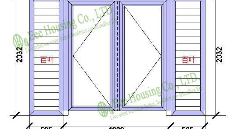 Aluminum Glass Louvered Windows Insect Screens