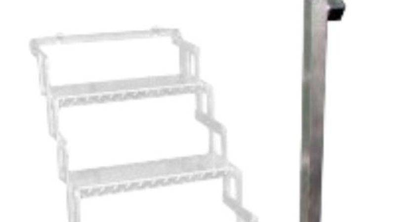 Aluminum Hand Rail Step Scissor Stair Brophy