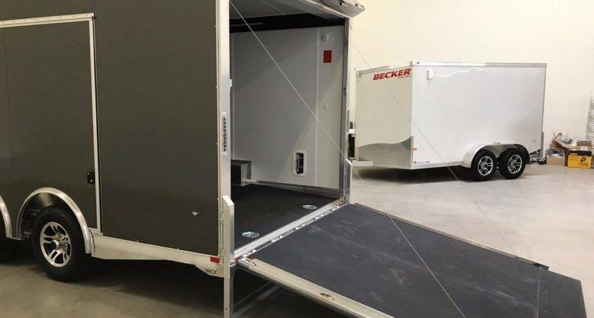 Aluminum Hauler Enclosed Cargo Utility Trailer Ebay Get