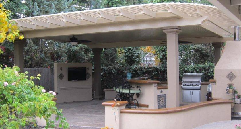 Aluminum Pergola Patio Covers Design Ideas
