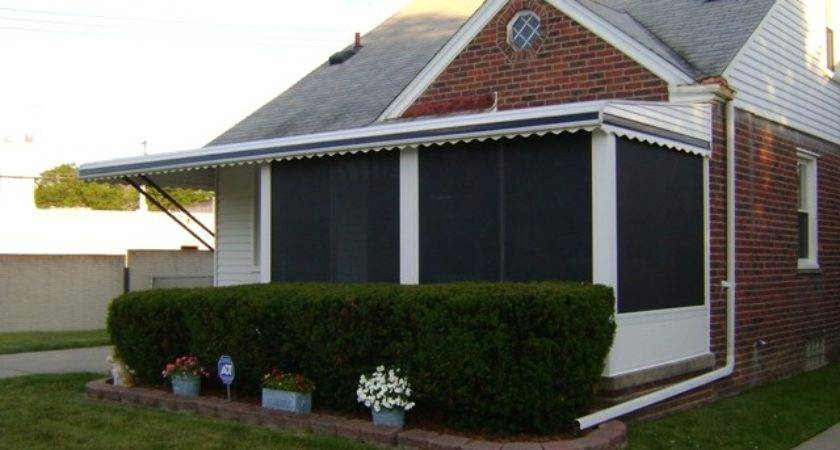 Aluminum Porch Awnings Mobile Homes Homemade Ftempo